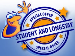 Student and Long-stays: Save up to 40%!