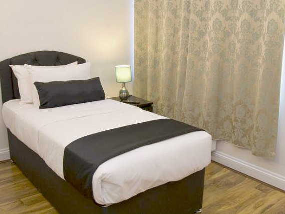 Single rooms at Hotel 82 London provide privacy