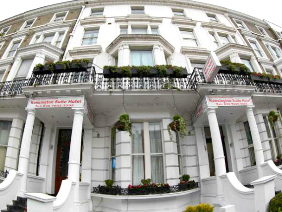 The staff are looking forward to welcoming you to Kensington Suite Hotel