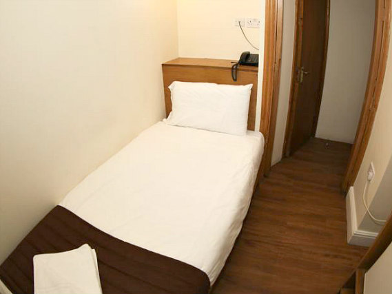 Single rooms at Kensington Suite Hotel provide privacy