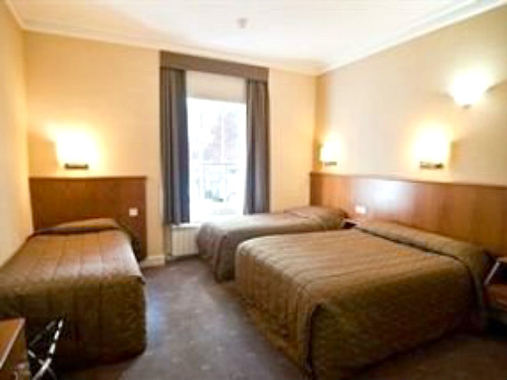 Quad rooms at Orchard Hotel are the ideal choice for groups of friends or families