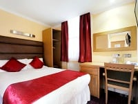 A comfortable Double room Lord Jim Hotel London