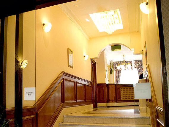 Common areas at Pembridge Palace Hotel London