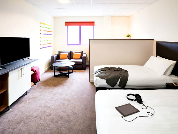 Quad rooms at Custom House Hotel are the ideal choice for groups of friends or families
