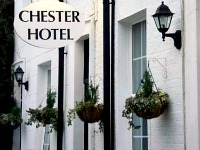 The classic exterior of Chester Hotel Victoria