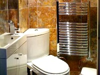 Bathroom facilities at Chester Hotel Victoria are modern and cleaned daily