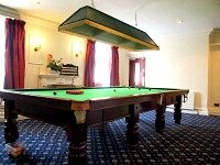 The Pool room at Queens Hotel London