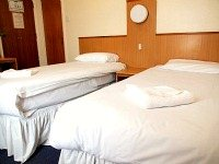 A typical triple Room at Euro Hotel Wembley
