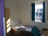 A typical single room at Northumberland House TopFloor!