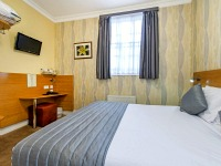 A specious double room at Lidos Hotel