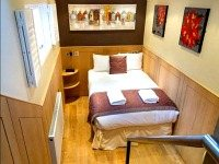 A double room at Meville Hotel