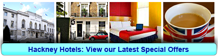 Hackney Hotels: Book from only £17.00 per person!