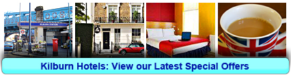 Kilburn Hotels: Book from only £18.00 per person!