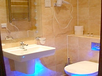 Ensuite bathrooms at Hotel 43 London are designed to a high specification