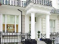 The classic and welcoming exterior of Hotel 43 London