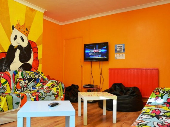 Relax in the lounge at West Two Hostel London
