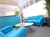Reception area at Harrow Hall is open 24 hours a day