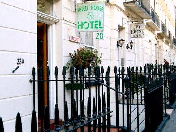 Holly House Hotel London, Außenansicht