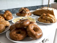 Get ready for a big day with a continental breakfast