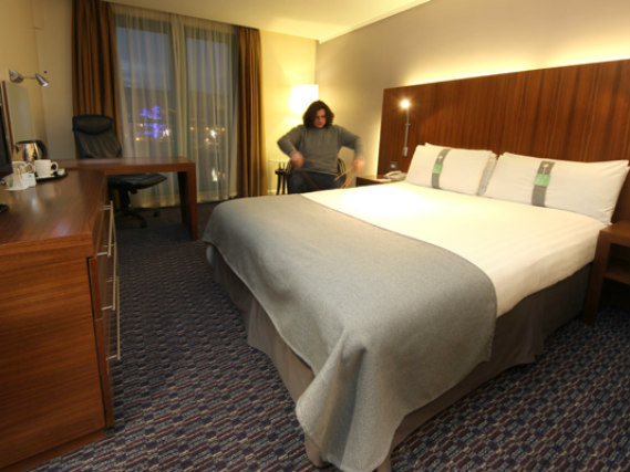 A double room at Holiday Inn Camden Lock is perfect for a couple