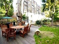 Enjoy the garden area at Passfield Hall - great in summer!