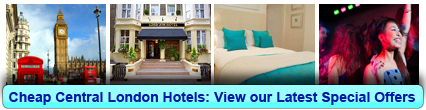 Buchen Sie Cheap Central London Hotel