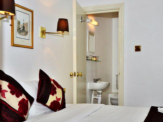A double room at The Warwick Hotel London