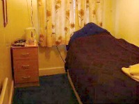 A typical single room at Revive Lodge Heathrow