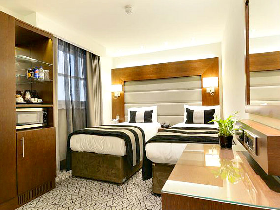 A comfortable twin rooms