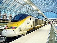 Eurostar at Kings Cross St Pancras International