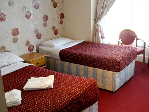 Triple room at Euro Hotel Hammersmith