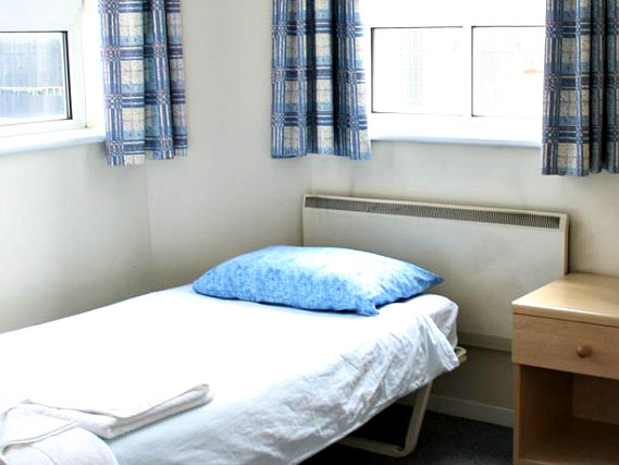 Single rooms at Bankside Apartments provide privacy