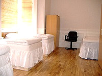 A typical Quad room at Barkston Rooms