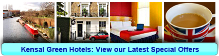 Kensal Green Hotels: Book from only £16.25 per person!