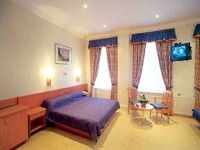 A double room at Abcone Hotel London