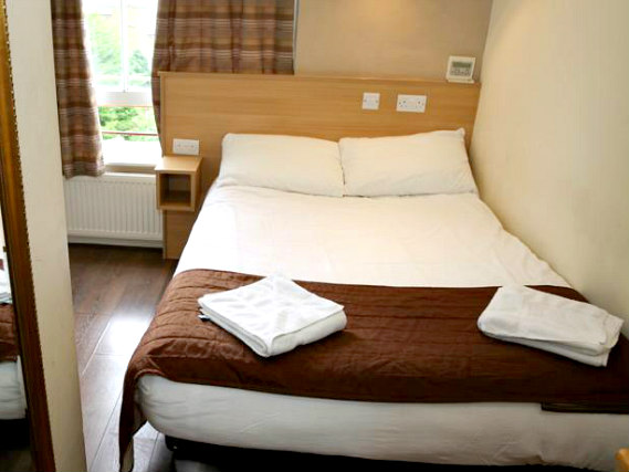 A double room at Holland Court Hotel is perfect for a couple