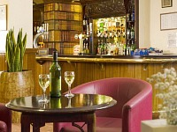 Enjoy a drink in the Pub Bar at Master Robert Hotel