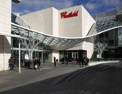 Westfield shopping centre in London, sourced from http://www.travelstay.com