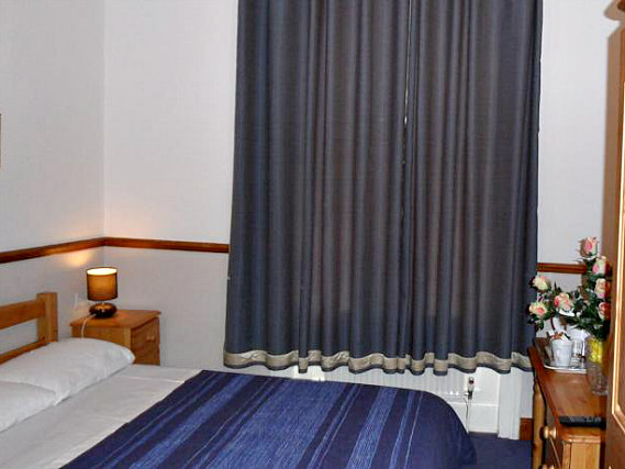 A double room at Hotel Meridiana is perfect for a couple