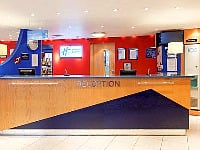 The reception staff at Holiday Inn Express Southwark are available 24 hours a day