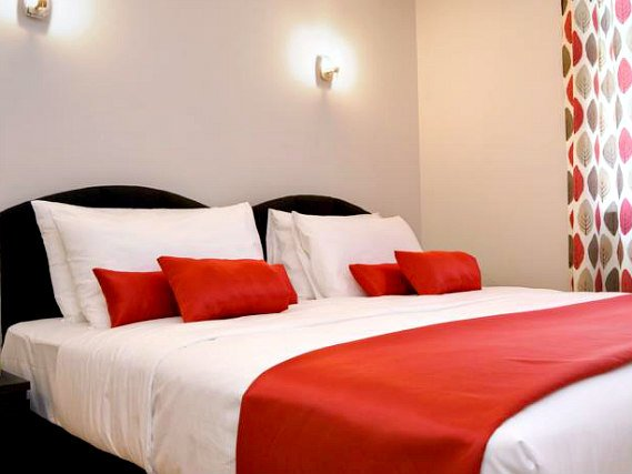 A double room at Hotel 82 London