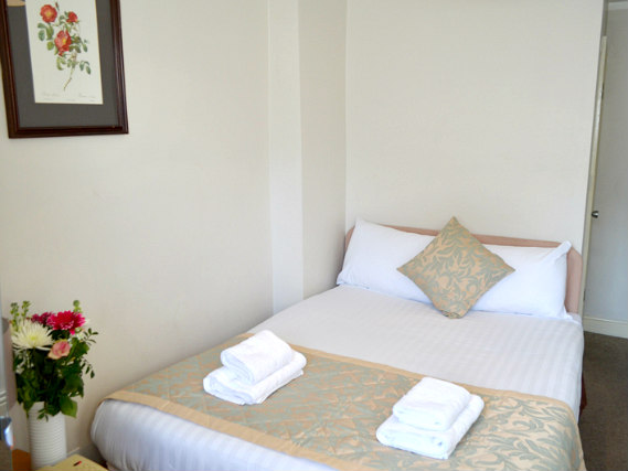 A typical room at Lexham Gardens Hotel