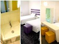 Bedrooms and bathrooms at Ibis Styles London Croydon