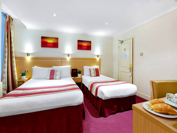 Triple rooms at Queens Park Hotel are the ideal choice for groups of friends or families
