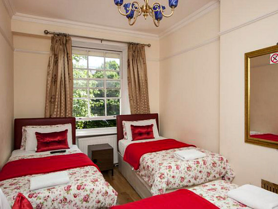 Quad rooms at Classic Hotel are the ideal choice for groups of friends or families