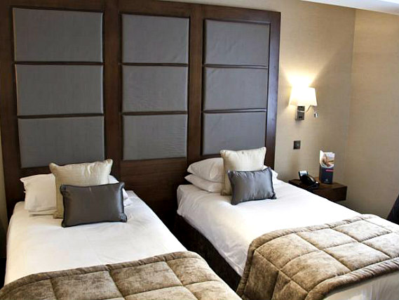 A twin room at Grange Wellington Hotel is perfect for two guests