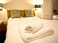 A double room at Hanover Hotel London