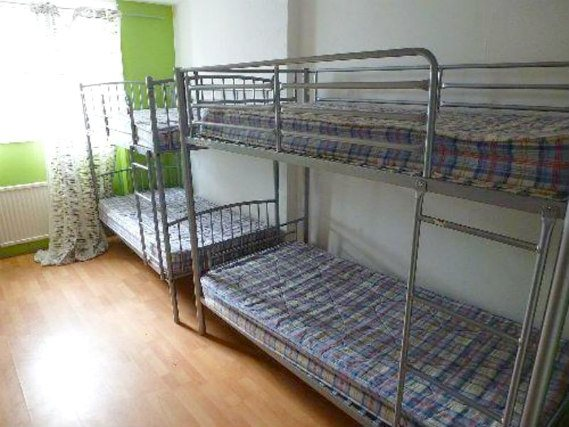 Dormitorio en Notting Hill Hostel