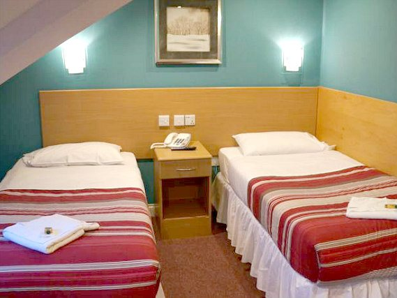 Get a good night's sleep in your comfortable room at London Guest House Acton