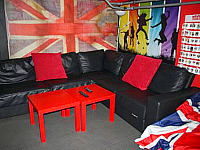 Relax in the sitting area at Journeys Kings Cross